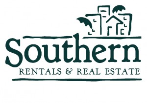 Southern - Rentals and Real Estate Logo - Teal
