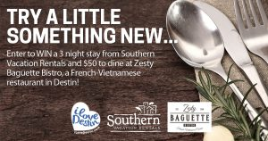 Zesty Baguette Giveaway - Share